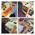 Melbourne Beginners Sign Painting Workshop is this Sunday 11 Octoberhellip