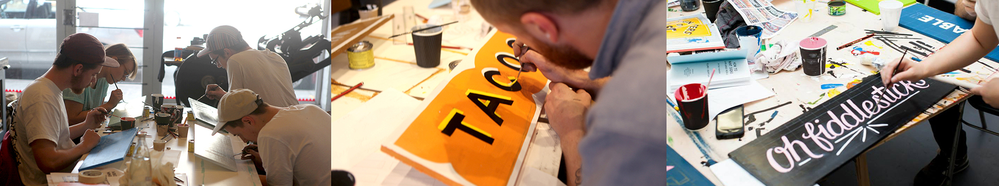 Pocket Design - Signwriting Workshops
