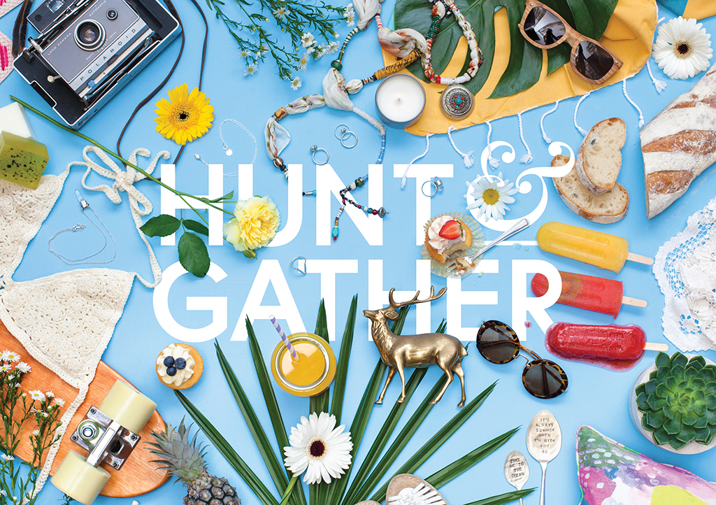 Hunt & Gather Markets - Design by Pocket Design - Newcastle Graphic Design