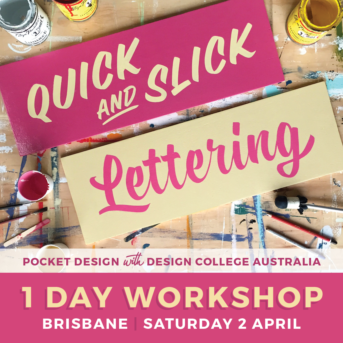 Signwriting Workshop Brisbane