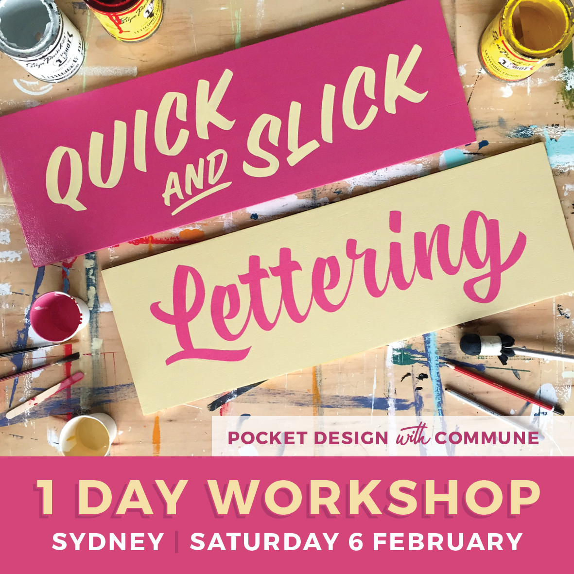 Signwriting Workshop Sydney