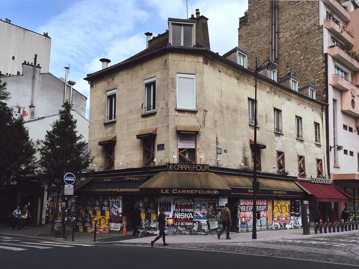 Pocket Design - FRANCE - Typography and Paris storefronts zine