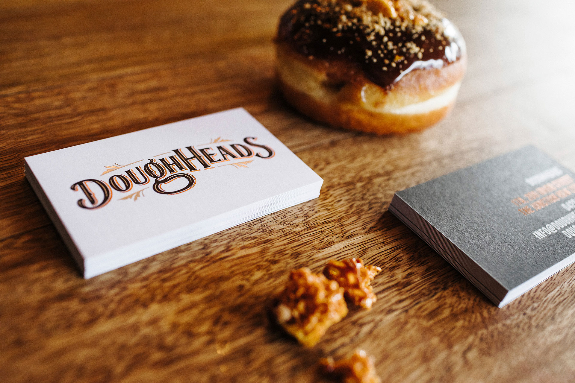 Pocket Design. Doughheads Branding Design