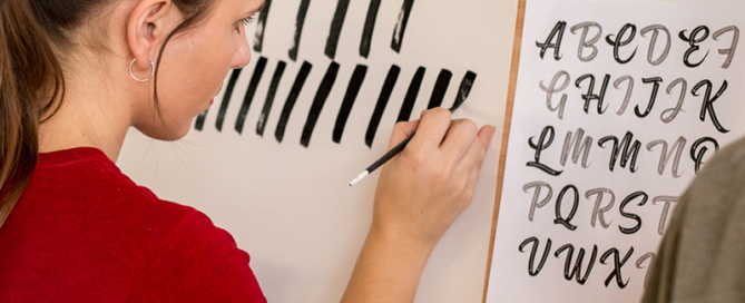 Pocket Design Signwriting Workshop and Lettering Course.