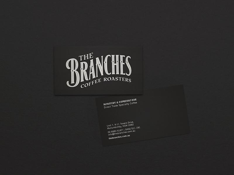 Pocket Design. Australian Design. The Branches Coffee Roasters.