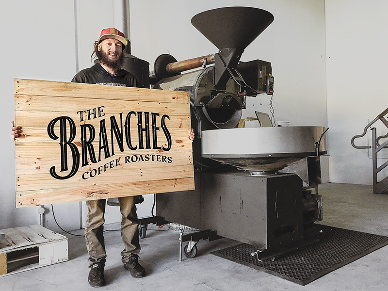 Pocket Design. Australian Design. The Branches Coffee Roasters.